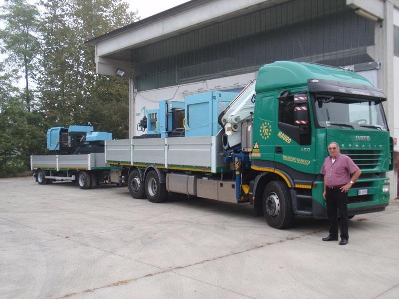 Trasporti nazionali e internazionali con Gru Ranzato - I servizi